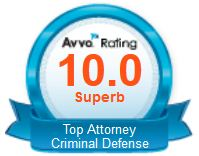 "Rated 10.0 ""Superb"" - AVVO Top rated by AVVOs rating agency for the past three years in a row."